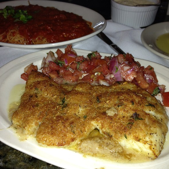 Chilian Sea Bass With Heirloom Tomato Puree - Matteo's of Boca Raton, Boca Raton, FL