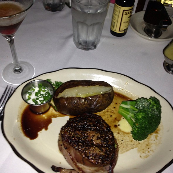 Bacon Wrapped Filet Mignon - Taylor's Prime Steak House, Los Angeles, CA