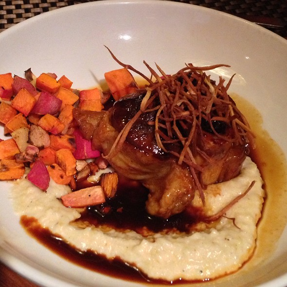 Braised Pork Shank And Grits - AMP 150, Cleveland, OH