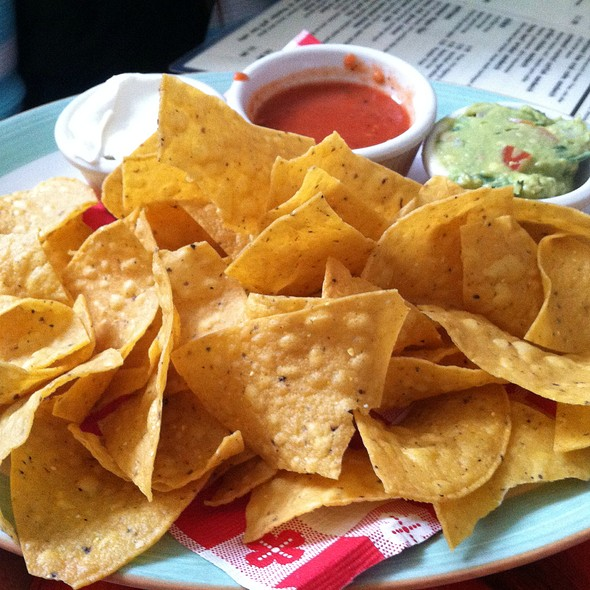Chips and Salsa - Thunder Grill, Washington, DC