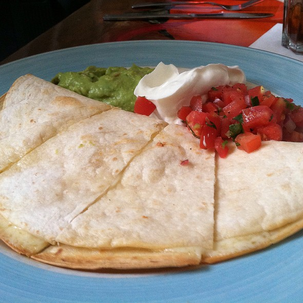 Cheese Quesadilla - Thunder Grill, Washington, DC