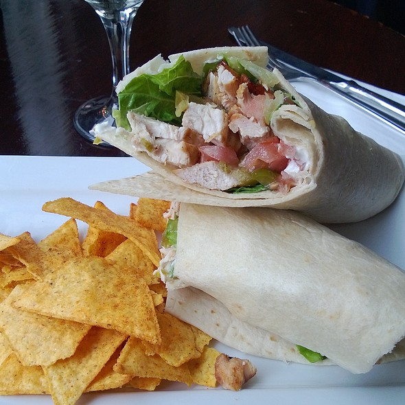 Chicken Caesar Wrap - Smollensky's Canary Wharf Restaurant, London