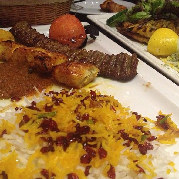 Chicken & Lamb Kebab Plate - Shandiz, Munich, BY