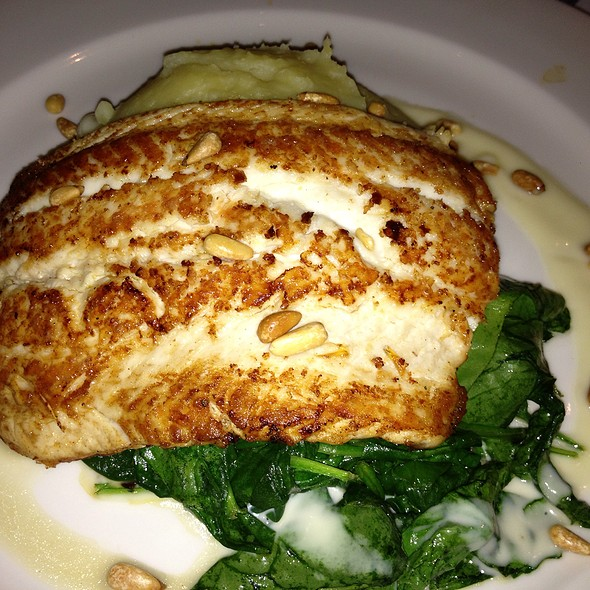 Lake Superior Grilled White Fish - Pacifica Seafood Restaurant, Palm Desert, CA