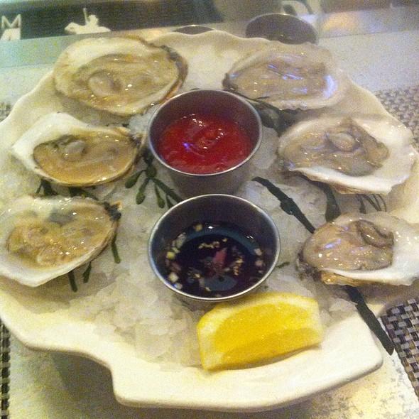 Oysters - Rick Moonen's RM Seafood, Las Vegas, NV