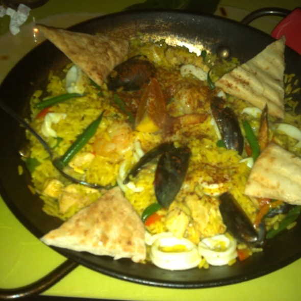 Seafood Paella - Gilbert's Cafe & Bar, Atlanta, GA