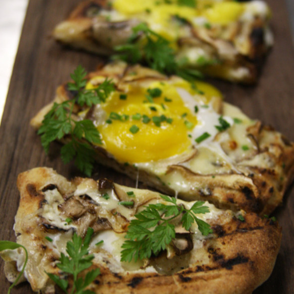 Mushroom Flatbread - Ten Ten, Baltimore, MD