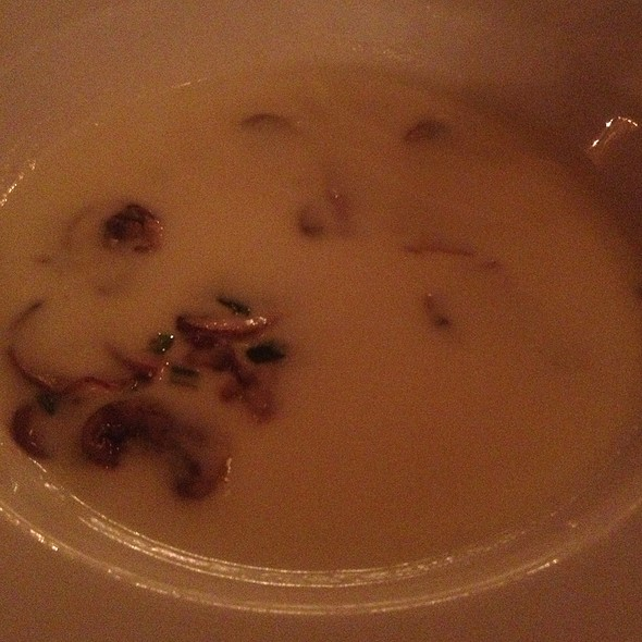 Mushroom Brie Soup - The Old Warsaw, Dallas, TX