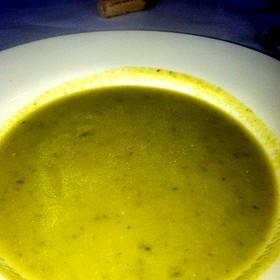 Asparagus Bisque Soup - Cafe Mahjaic - Lotus Inn, Lotus, CA
