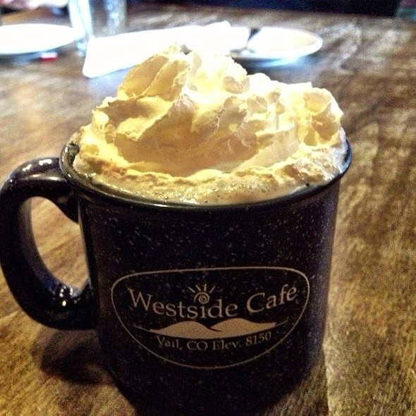 Hot Cocoa - Westside Cafe, Vail, CO