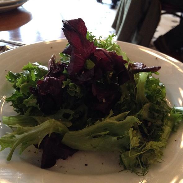 Mesculin Salad - Coquette Brasserie, Raleigh, NC