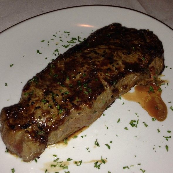 New York Strip - Fleming's Steakhouse - Austin, Austin, TX