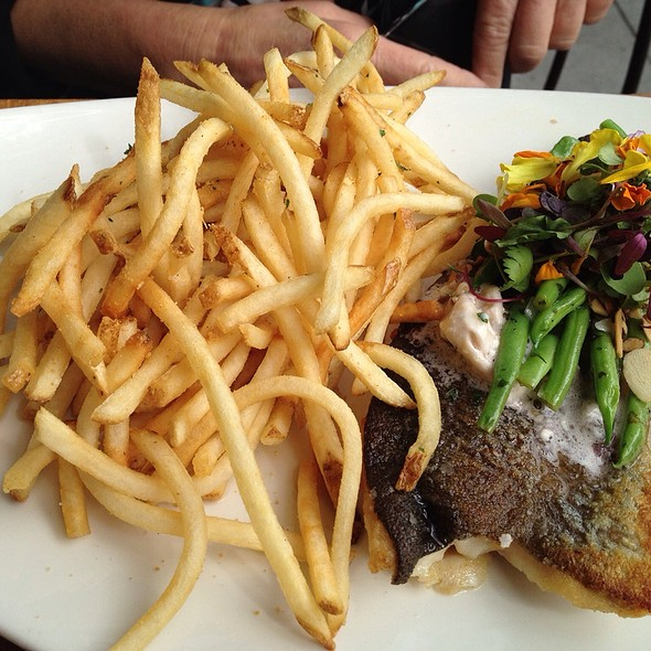 Trout (Fish) With French Fries - 230 Forest Avenue, Laguna Beach, CA