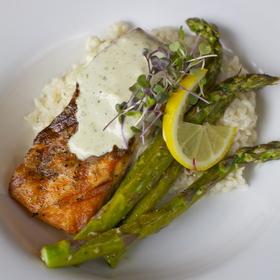 Grilled Atlantic Salmon - Bistro 234, Turlock, CA