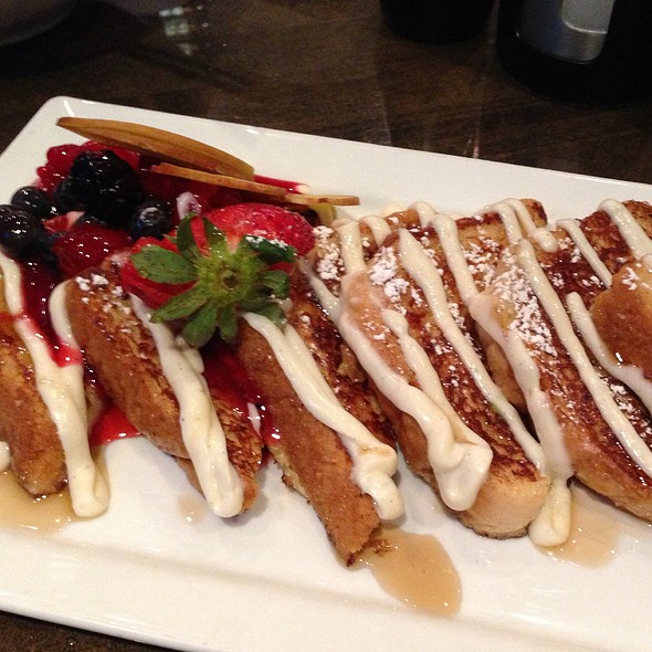 Vanilla Bean French Toast - Besa Grill, Clearwater, FL