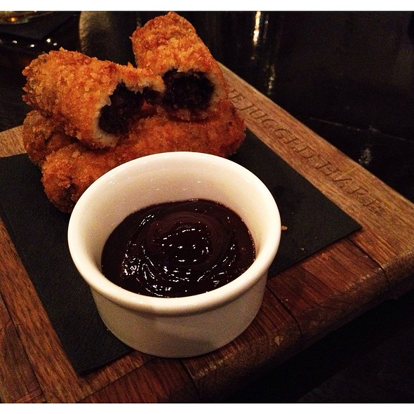 Clonakilty Black Pudding Croquettes - The Jugged Hare, London