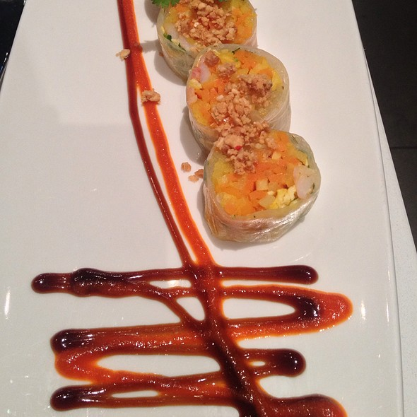 Spring Rolls - Straits Restaurant - Santana Row, San Jose, CA