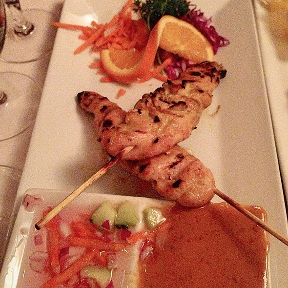 Chicken satay - Bangkok Thai on Main, Park City, UT