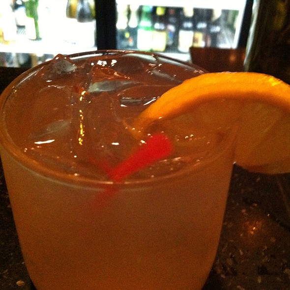 Green Tea Grapefruit Fizz. - Five Fifty-Five, Portland, ME