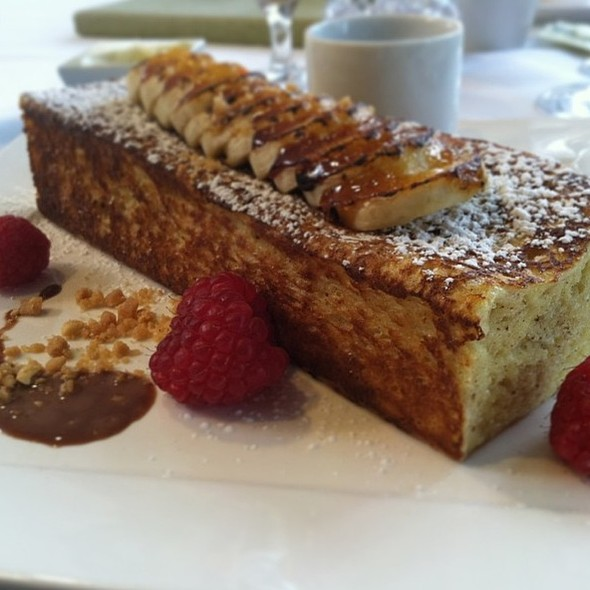 Stuffed Brioche French Toast - 1906 at Longwood Gardens, Kennett Square, PA