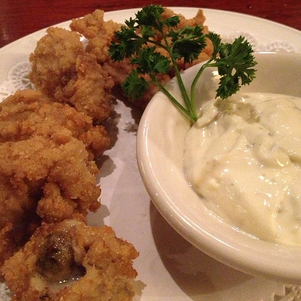 Deep Fried Oysters - Grand Central Oyster Bar, New York, NY