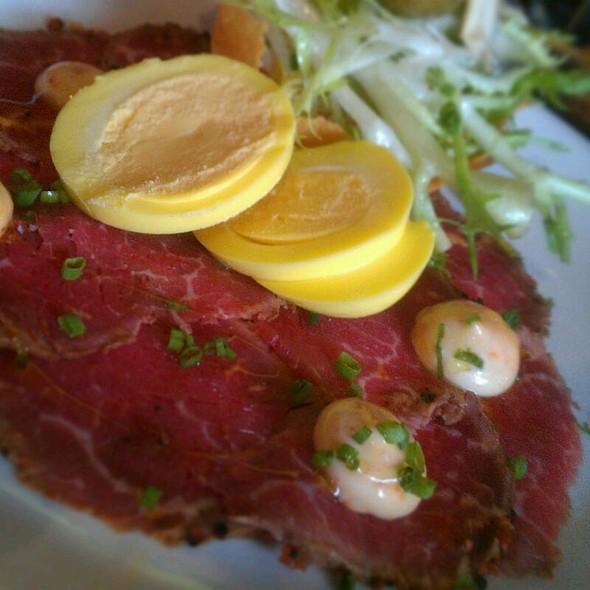 Beef Carpaccio - Tannin Wine Bar and Kitchen, Kansas City, MO
