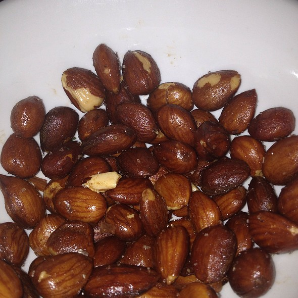 Smoked Marcona Almonds - Rocco's Electric Red Room and Ice Cream Emporium, Palm Springs, CA