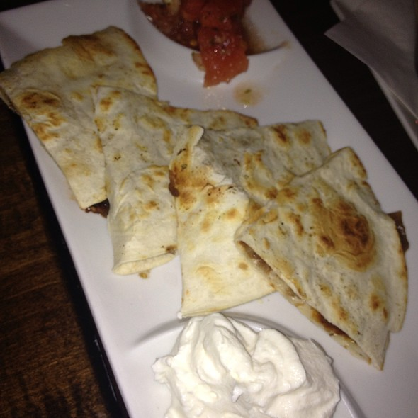 Short Rib And Caramelized Onion Quesadilla - Tavern 17, Philadelphia, PA