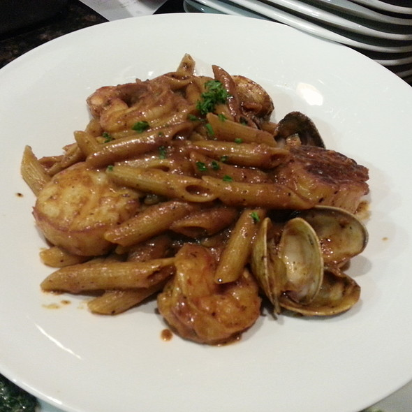 Seafood Penne Pasta - JW's Steakhouse - Marriott LAX, Los Angeles, CA