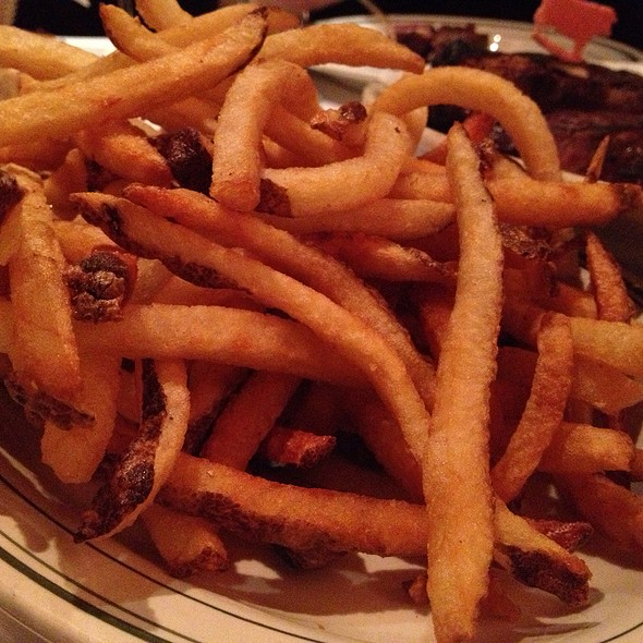 Steak Fries - Wolfgang's Steakhouse - Tribeca, New York, NY