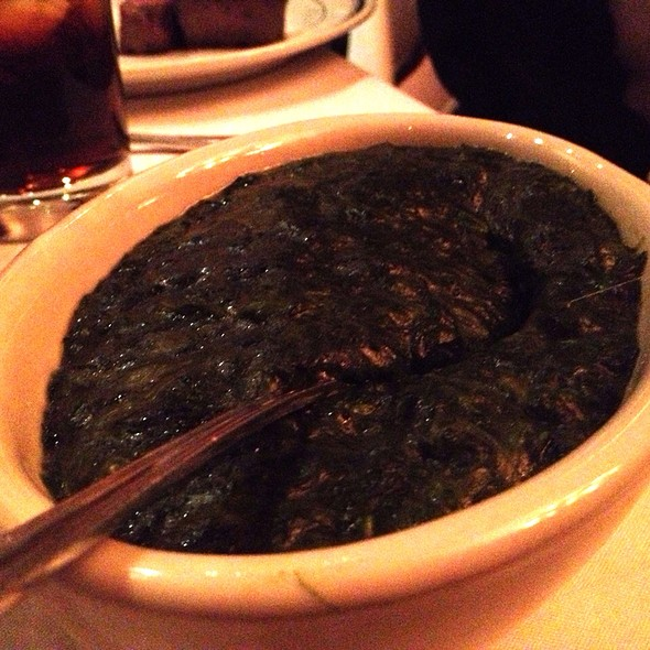 Creamed Spinach - Wolfgang's Steakhouse - Tribeca, New York, NY