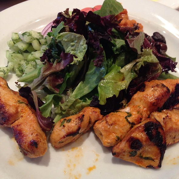 Chicken Kebab - Barbes Restaurant, New York, NY