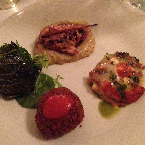 Appetizer Sampler - Il Gattopardo, New York, NY
