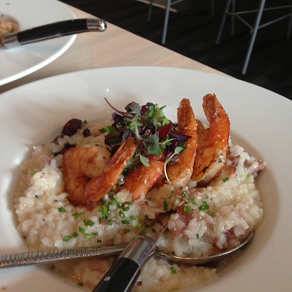 Shrimp Risotto - Cowell & Hubbard, Cleveland, OH