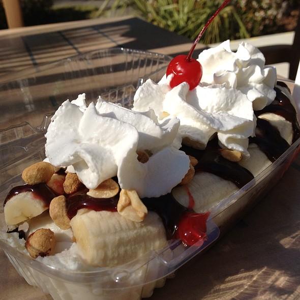 Banana Split - Marleys Island Grille, Hilton Head Island, SC