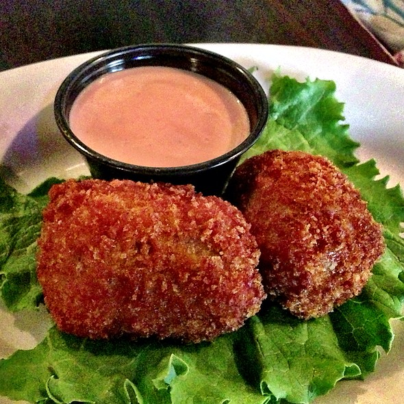 Boudin Balls with Creole Mustard - Cypress Grill, Austin