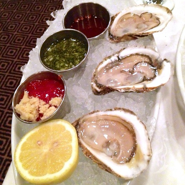 Cotuit Oysters - Grill 23 & Bar, Boston, MA