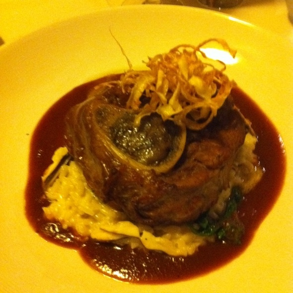 Veal Osso Buco - Firestone's, Frederick, MD