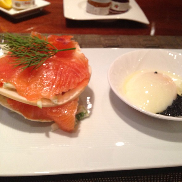 Smoked salmon - Quattro - Four Seasons Hotel - Houston, Houston, TX