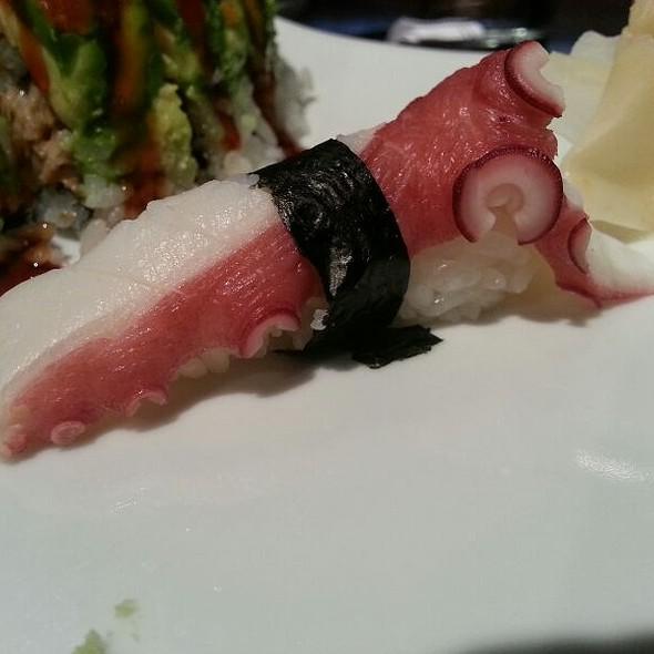Octopus Nigiri - hiko-A-mon Modern Japanese Sushi Bar & Fish Market, Louisville, KY