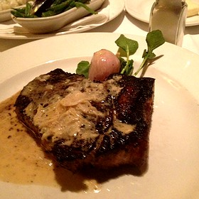 Kona Crusted Dry Age Sirloin - The Capital Grille - Chestnut Hill, Chestnut Hill, MA