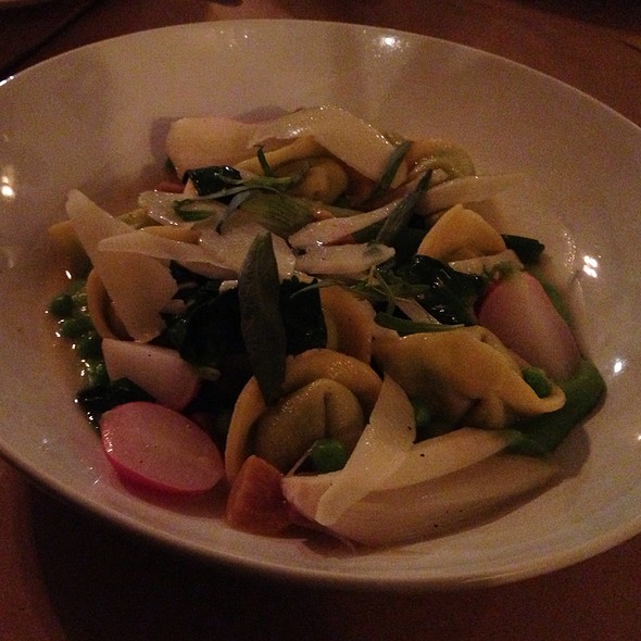 Pea Tortellini - Hillside Supper Club, San Francisco, CA