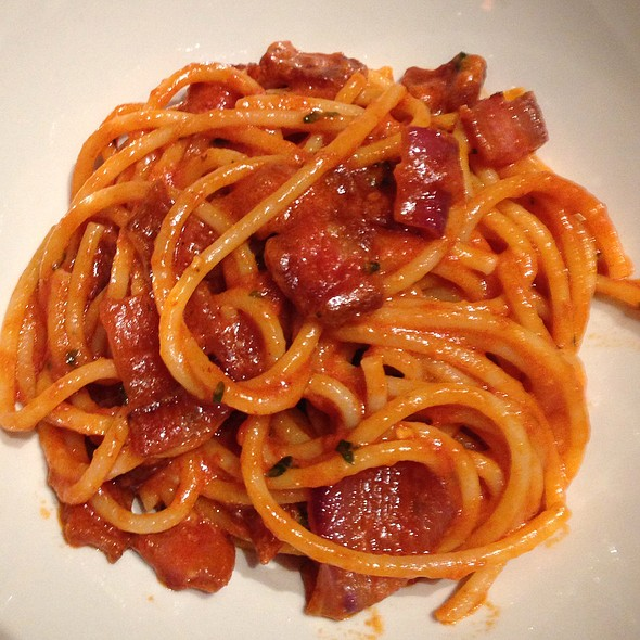 Bucatini All'Amatriciana - Lupa, New York, NY