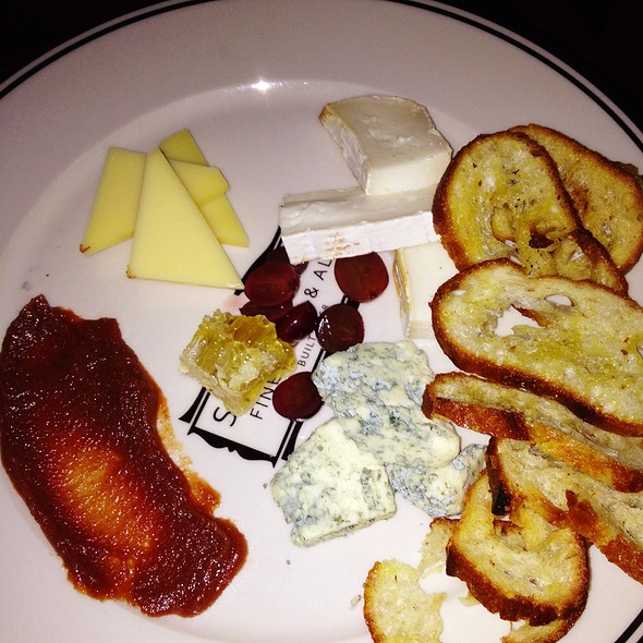 Cheese Platter - Stoddard's, Boston, MA