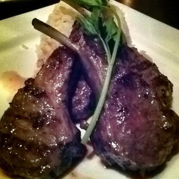 Grilled Lamb Chops - Casa La Femme, New York, NY