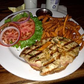 Tuna Sandwich - Geske's Fire Grill, El Paso, TX