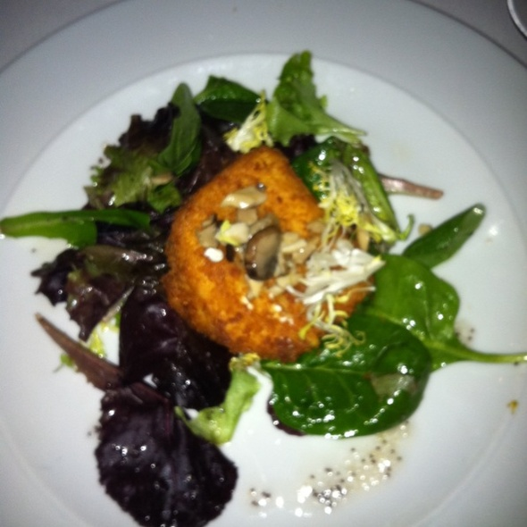 Goat Cheese Croquette - Far Niente, Toronto, ON
