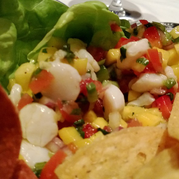 Sea Scallop Ceviche - Salty's on Alki Beach, Seattle, WA
