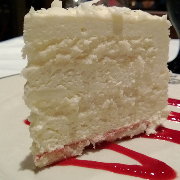White Chocolate Mousse Cake - Salty's on Alki Beach, Seattle, WA