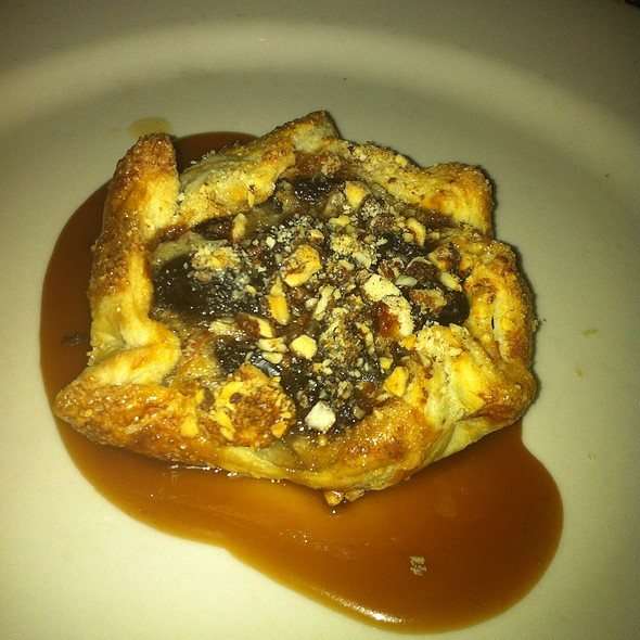 Cherry Almond Crostata With Caramel Sauce - Fore Street, Portland, ME